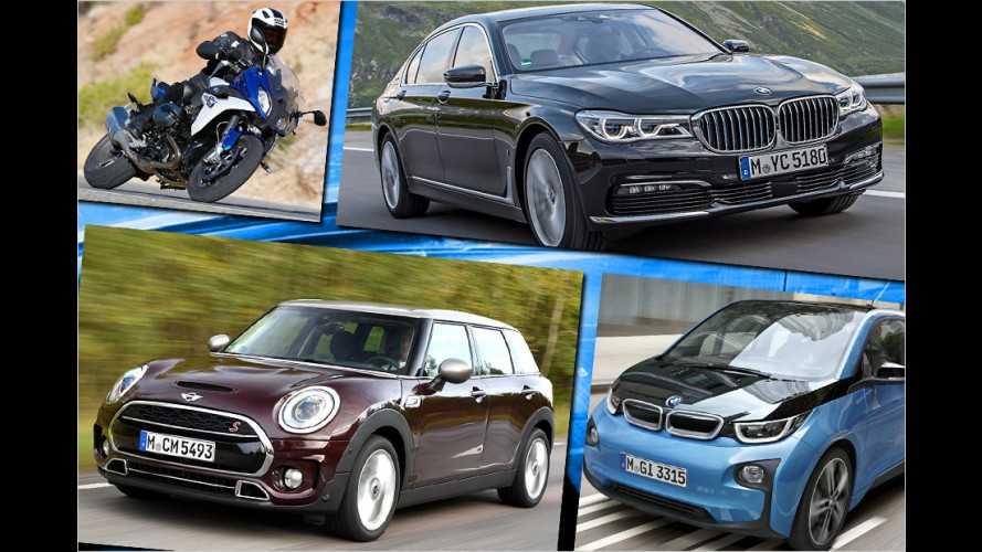 Die erfolgreichsten BMW in 2016