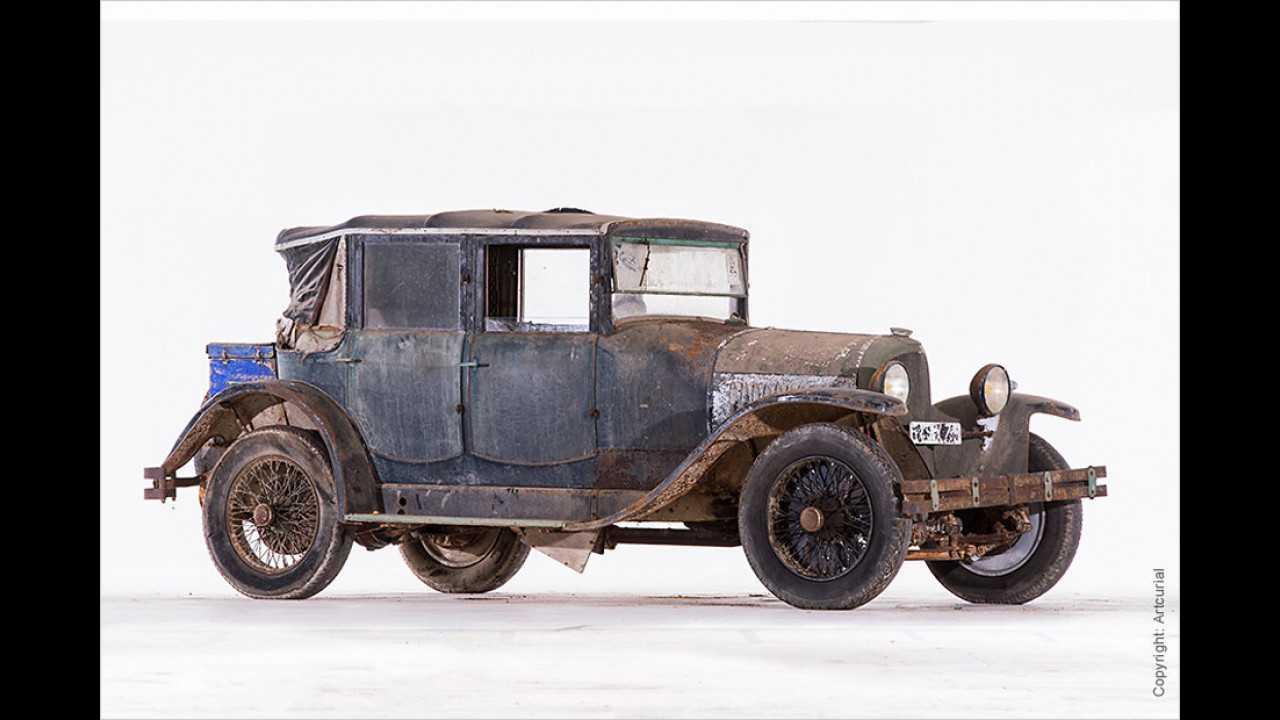 Voisin Type C7 Berline de Voyage Louis Gallé (1925)