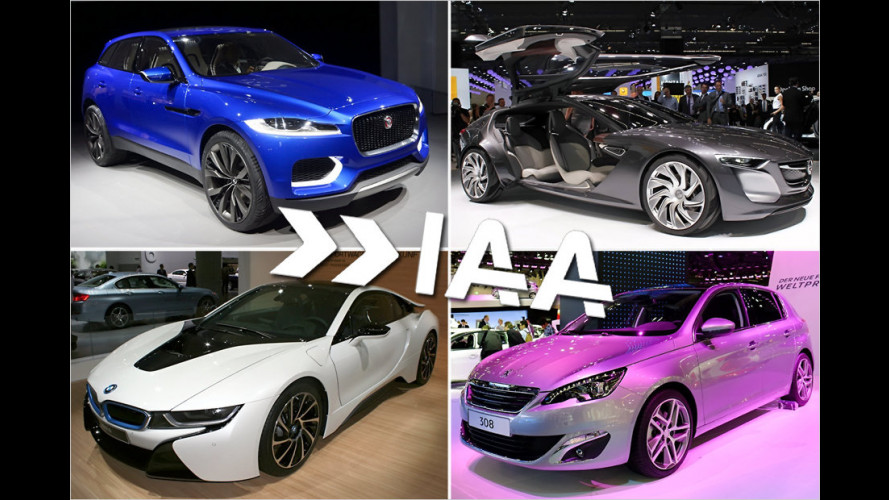 IAA 2013: Alle Highlights