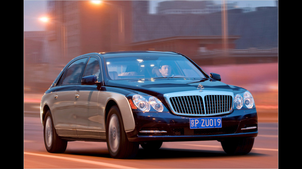 Acht Exemplare: Maybach