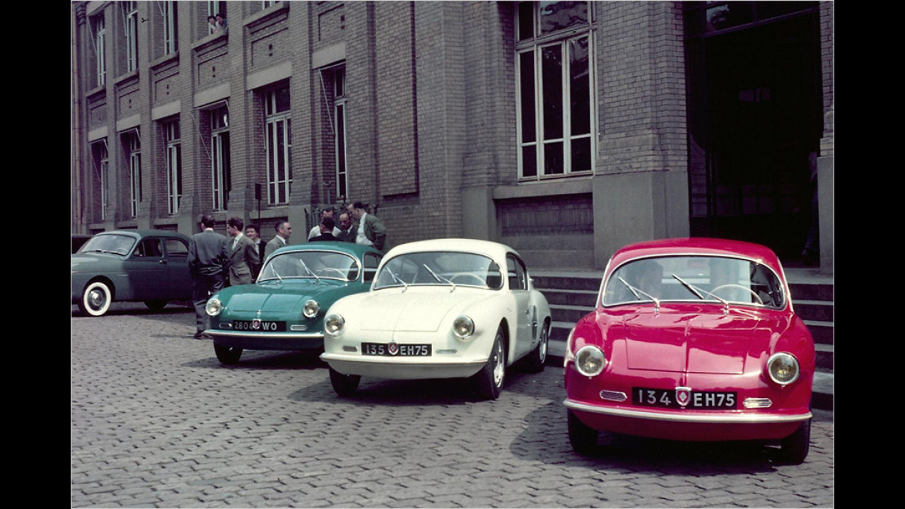 Die ersten A106-Modelle in den Nationalfarben
