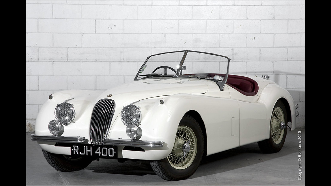 Jaguar XK120 Roadster ,RJH400