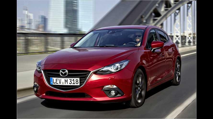Neuer 105-PS-Diesel im Mazda 3