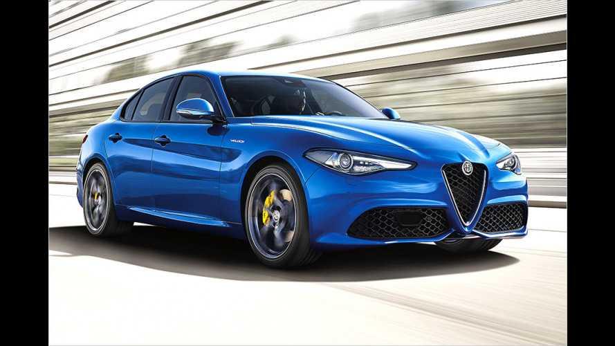 Alfa Romeo zeigt Veloce-Versionen der Giulia in Paris
