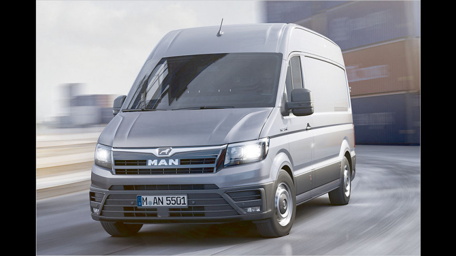 Neuer MAN-Transporter TGE: VW Crafter bekommt Zwilling