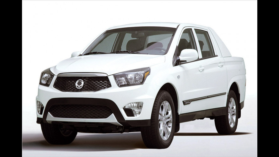 SsangYong SUT-1: Pick-up-Serienversion vorgestellt