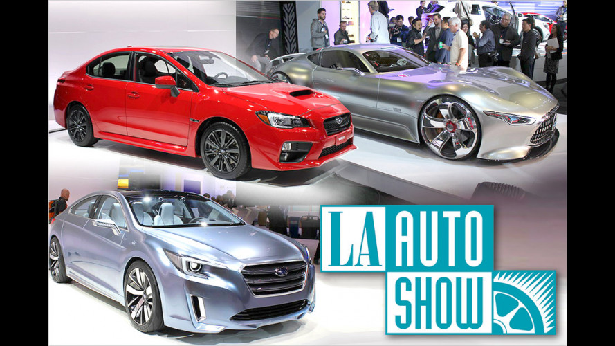 Los Angeles Auto Show 2013: Highlights