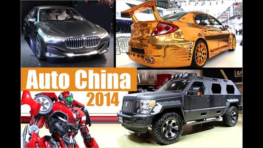Von Audi bis Zotye: Die besten Autos auf der Beijing Auto Show