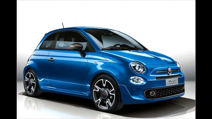 Fiat 500 mit dynamischer Optik soll Männer ansprechen