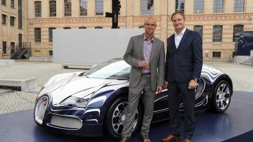 Bugatti Veyron Grand Sport L'Or Blanc unveiled