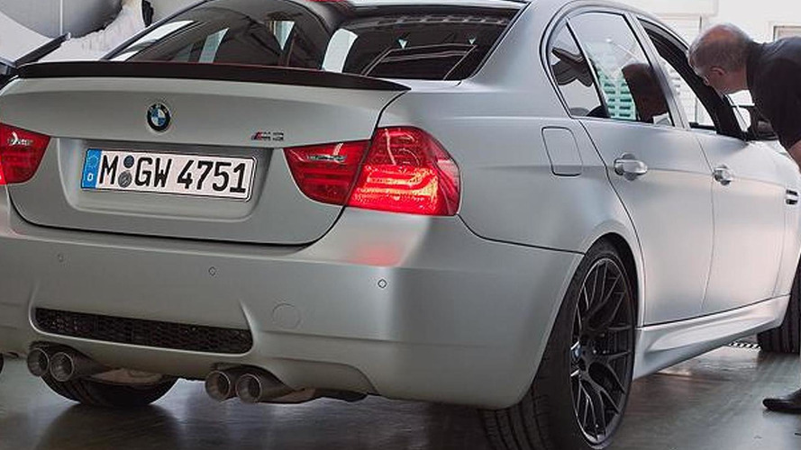 BMW M3 CRT first details released [video]