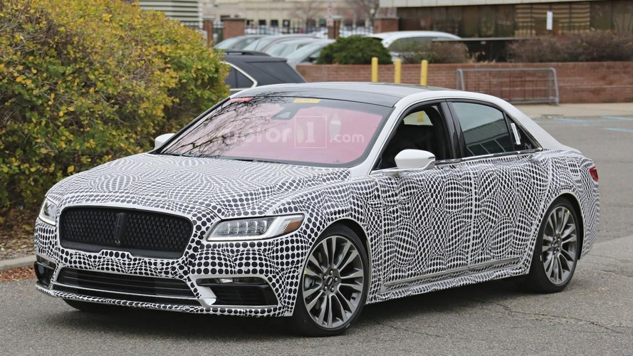 2017 Lincoln Continental Loses Flashy Bits When Rendered: Lincoln Continental News Articles And Press Releases