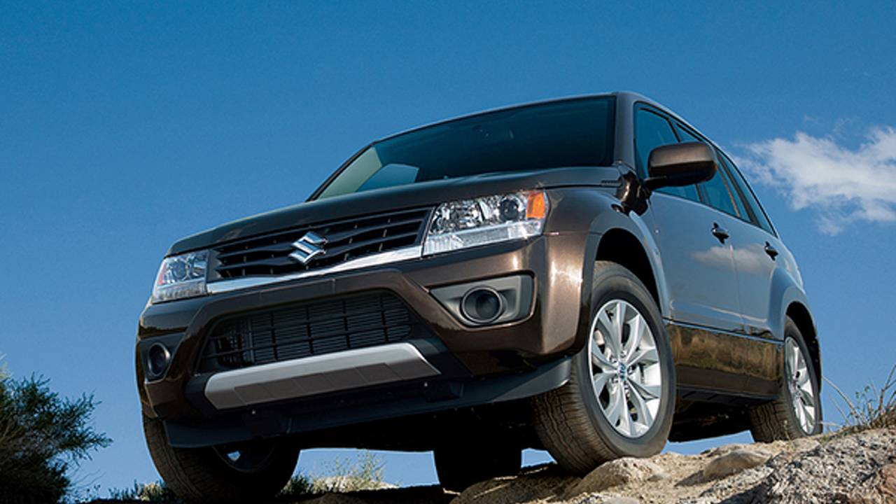 Requiem for an SUV: 2013 Suzuki Grand Vitara
