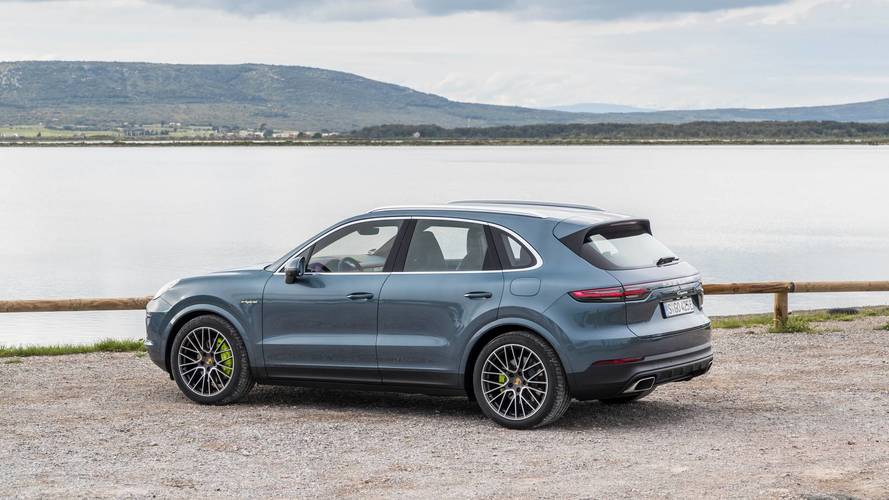 Essai Porsche Cayenne E-Hybrid (2018)