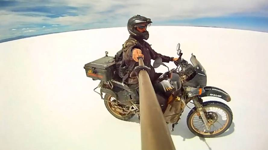 Video: From Alaska to Argentina on a KLR650