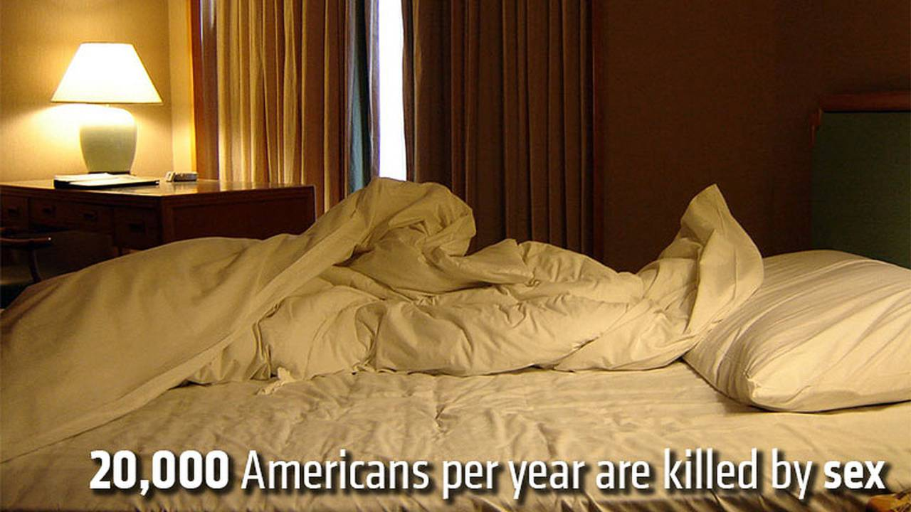 20,000 Americans per year are killed by sex