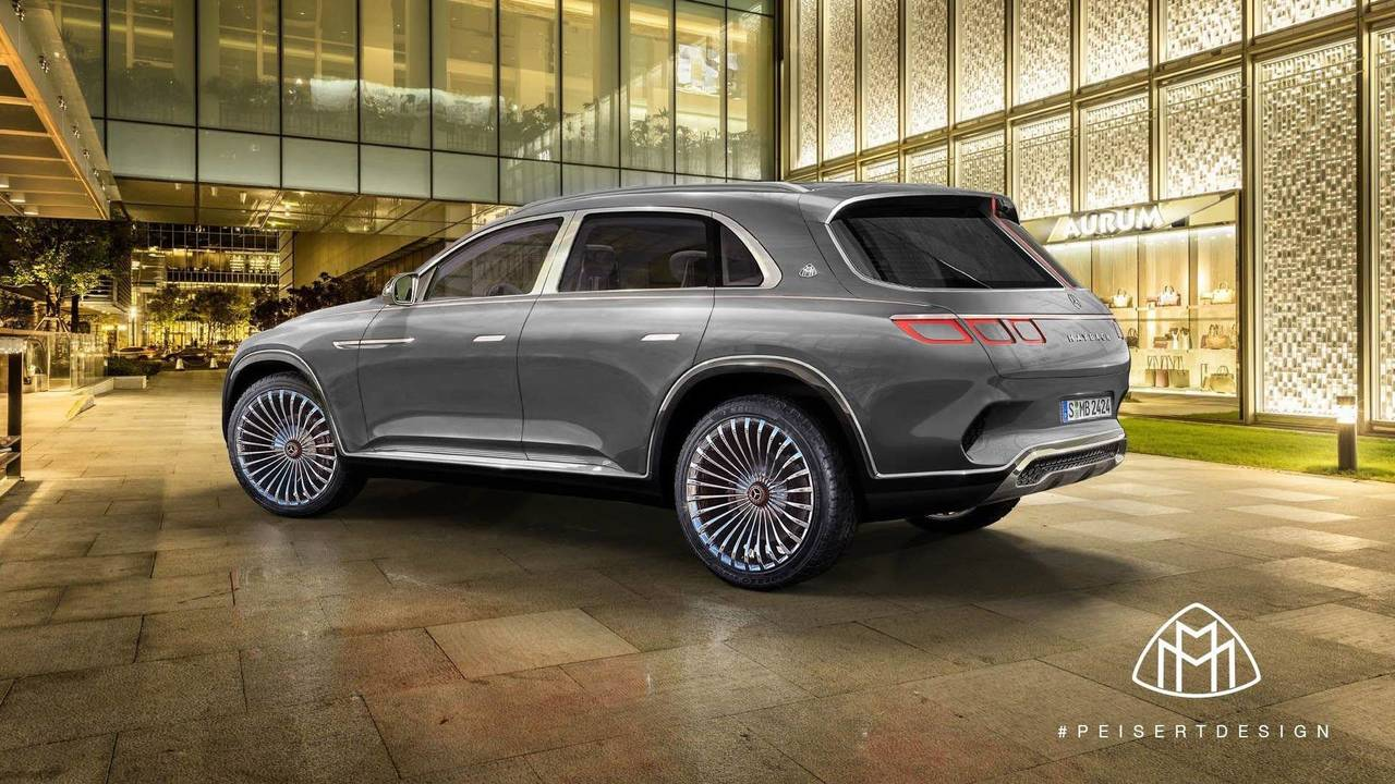 Maybach Vision Ultimate Luxury SUV Rendering