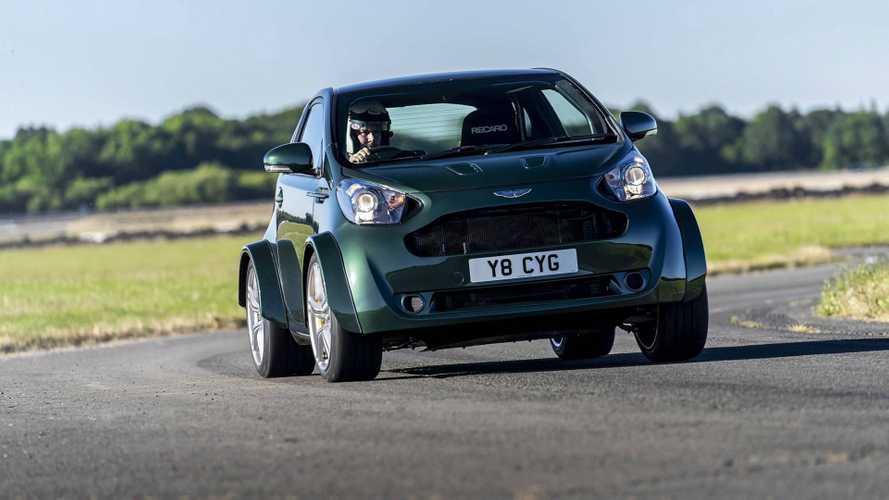 Aston Martin Cygnet volta à vida com motor V8 de 430 cv!