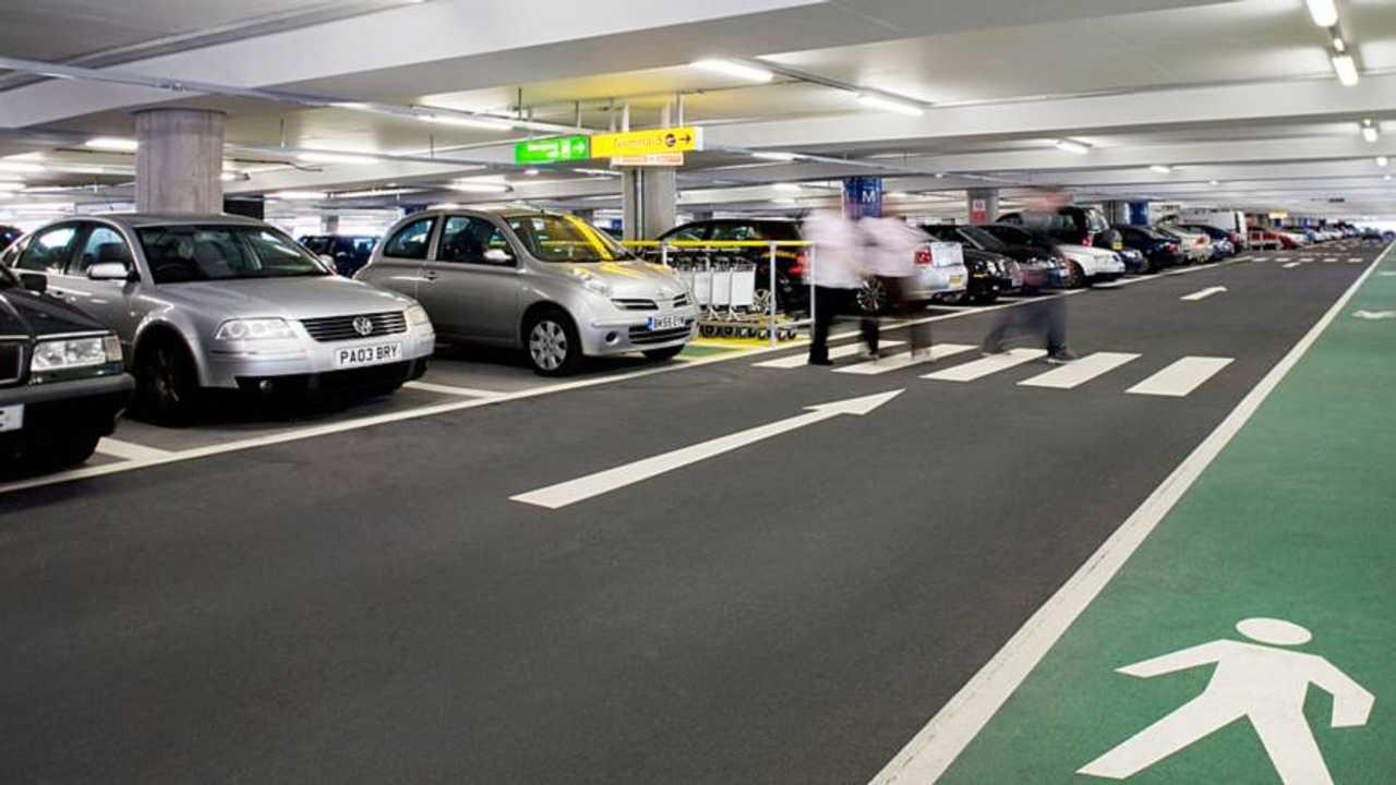Heathrow Airport Multi-Storey Parking