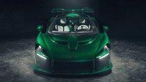 Fux Green Rengindeki McLaren Senna MSO