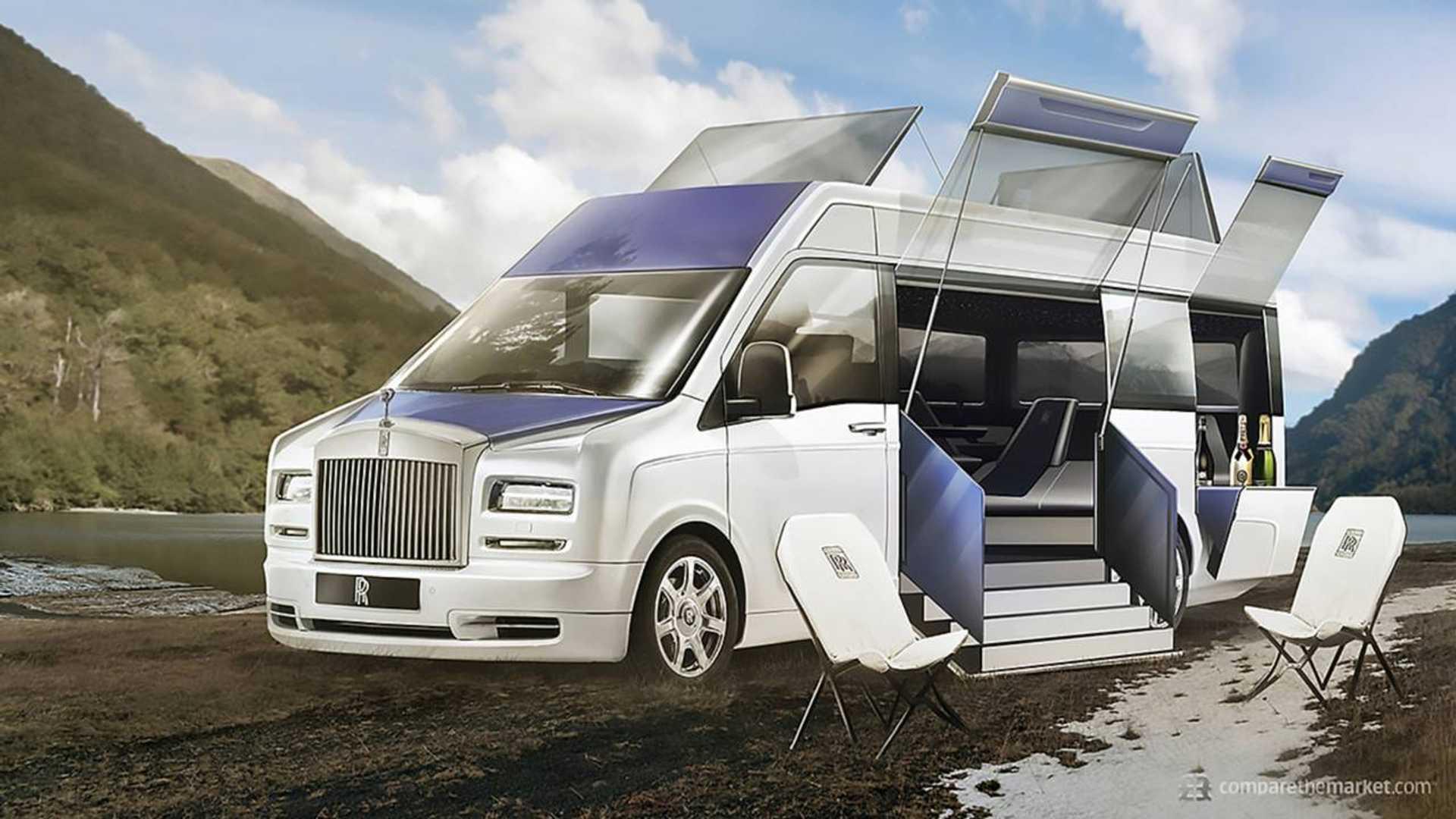 df9b808bf04026 What If Luxury Carmakers Built Camper Vans   vanlife