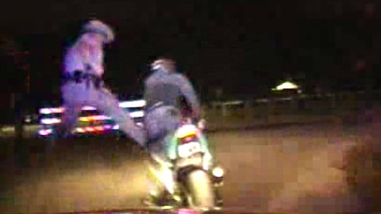 Troopers Shoot Biker and End Chase In the Most Chuck Norris Way Possible