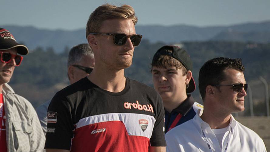 Track-Walk with Laguna Seca WorldSBK Winner, Chaz Davies
