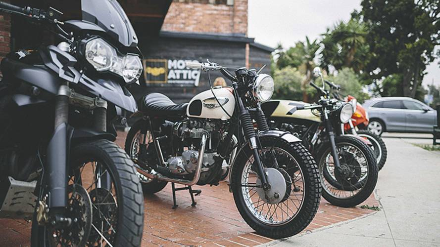 The Moto Attic and Deus Ex Machina Epic Moto Sale