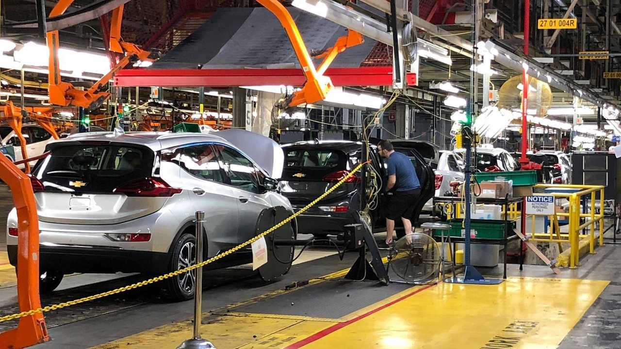 Fábrica do Chevrolet Bolt