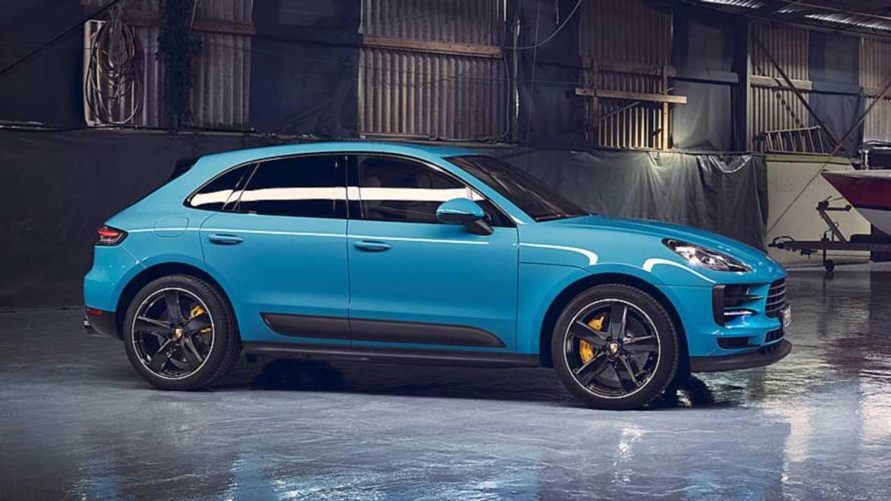 Makyajlı 2019 Porsche Macan