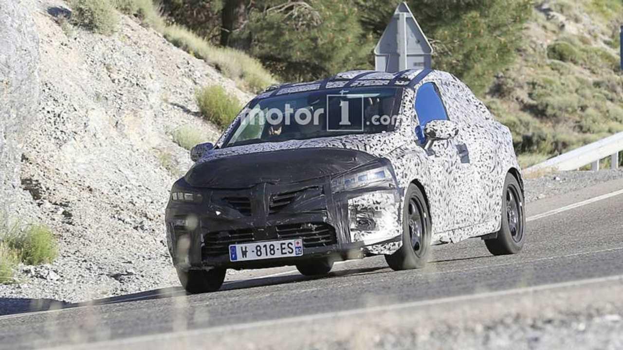 Renautl Clio 5 spyshot