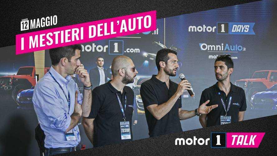 Motor1Talk, vi raccontiamo i mestieri dell'auto