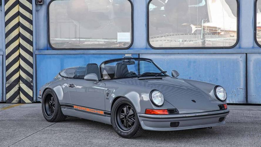 Retrolicious Porsche 911 Speedster Is Actually A Converted Targa