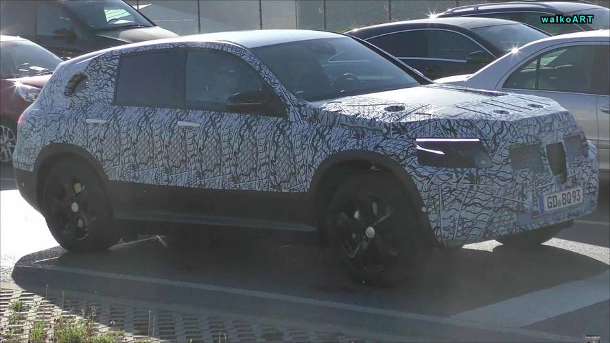 Mercedes-Benz EQ C Electric Crossover Spied On German Roads
