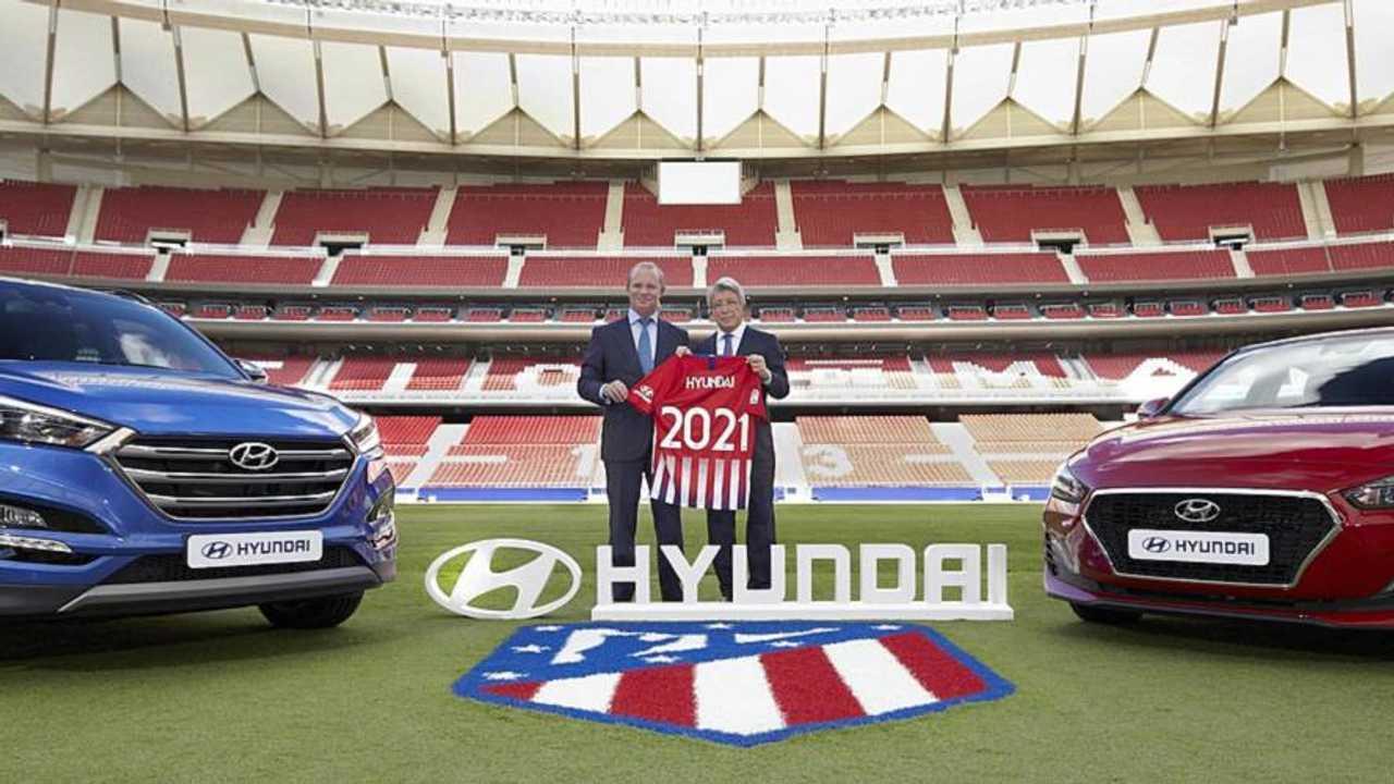 Hyundai, patrocinador del Atlético de Madrid
