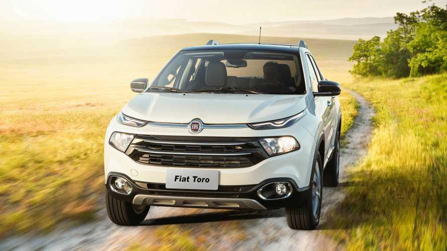 Picapes em 2018: Strada e Toro garantem dobradinha para a Fiat
