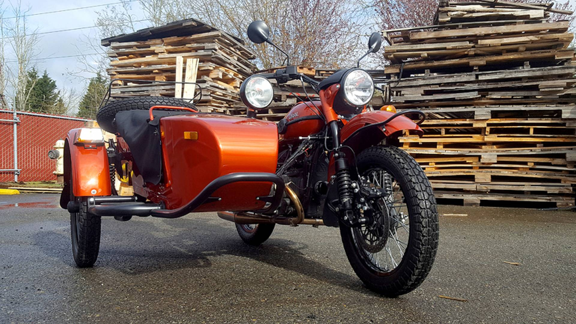 Twenty-Four Hours in Seattle with a Ural - Part 1