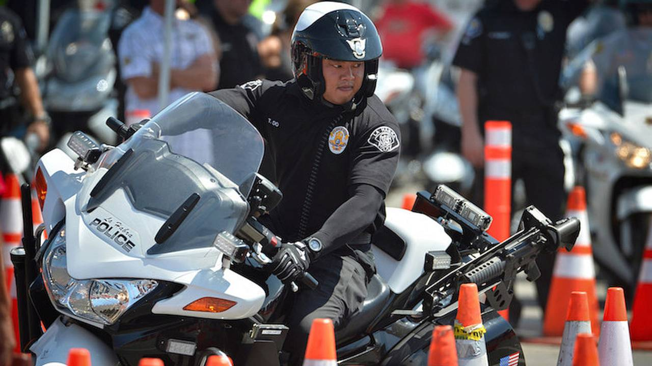 Police Motorcycle Competition Raises Funds for Special Olympics