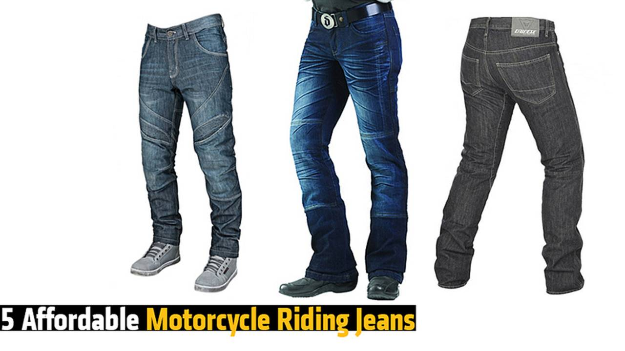 5 Affordable Motorcycle Riding Jeans