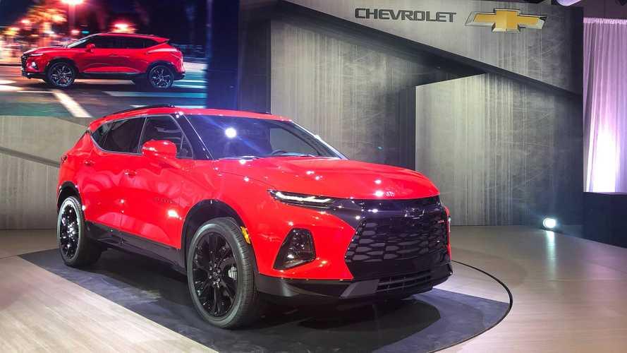 Chevrolet Blazer 2019 é revelado como o SUV do Camaro