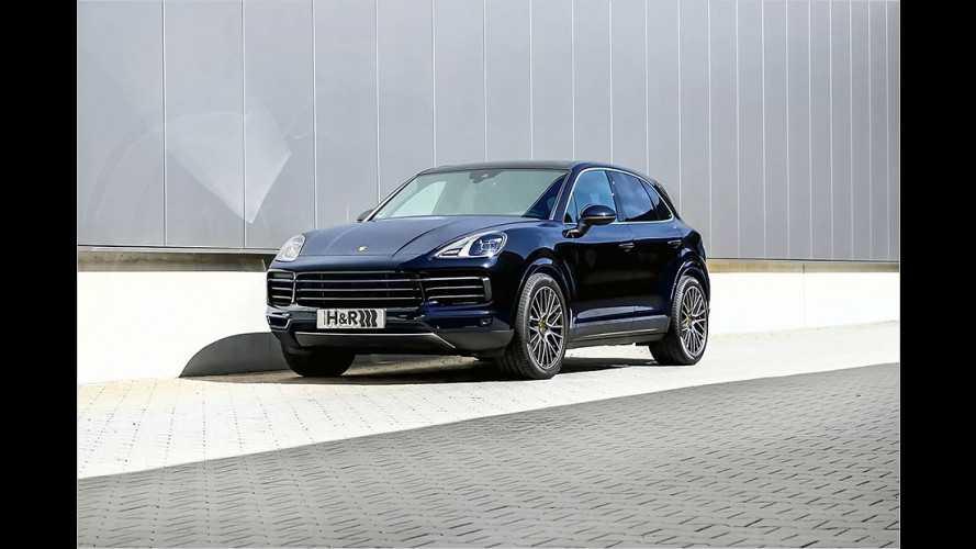 Porsche Cayenne noch dynamischer