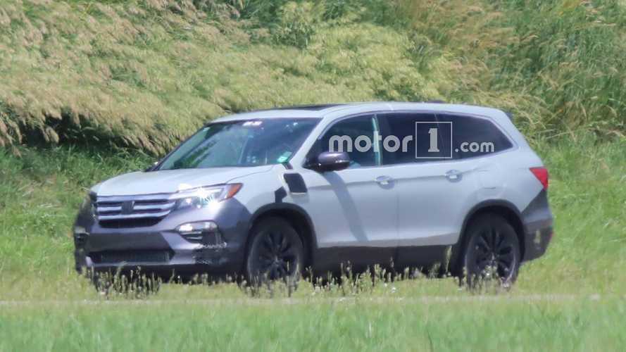 2018 Honda Pilot Spy Photos >> 2019 Honda Pilot Spied For The First Time In Phev Version