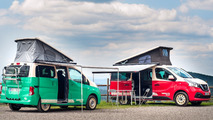 Nissan NV300 and e-NV200 camper vans