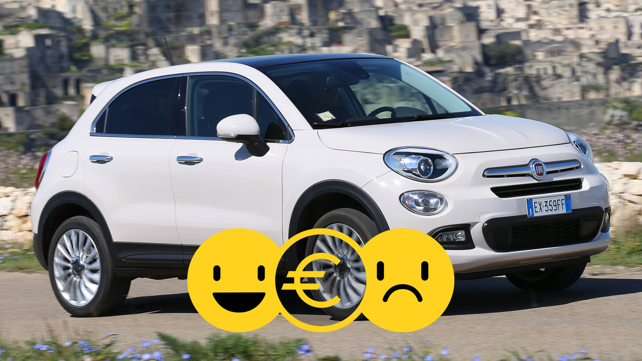 Fiat 500X, la promozione