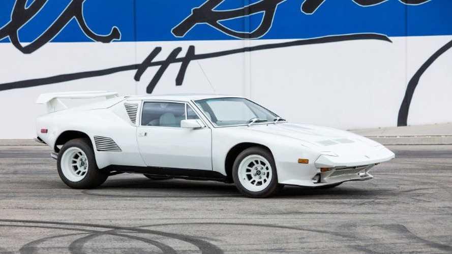 Une De Tomaso Pantera ex-Carroll Shelby sans moteur achetée 193'000€ !