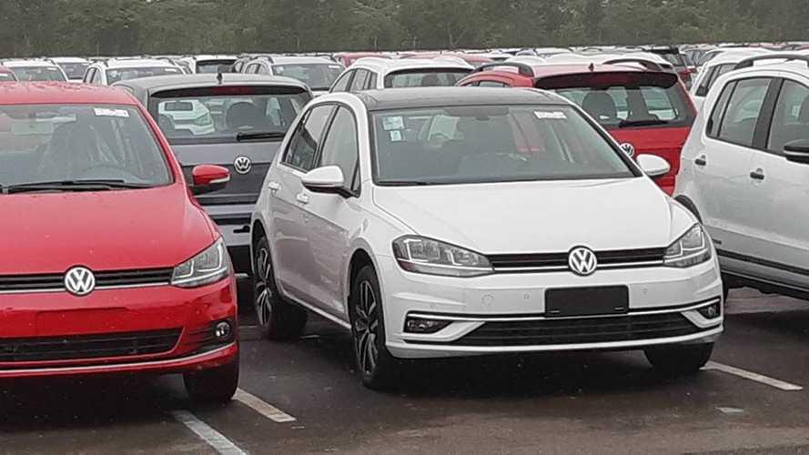 Agora vai: VW Golf 2019 reestilizado começa a ser produzido no Paraná