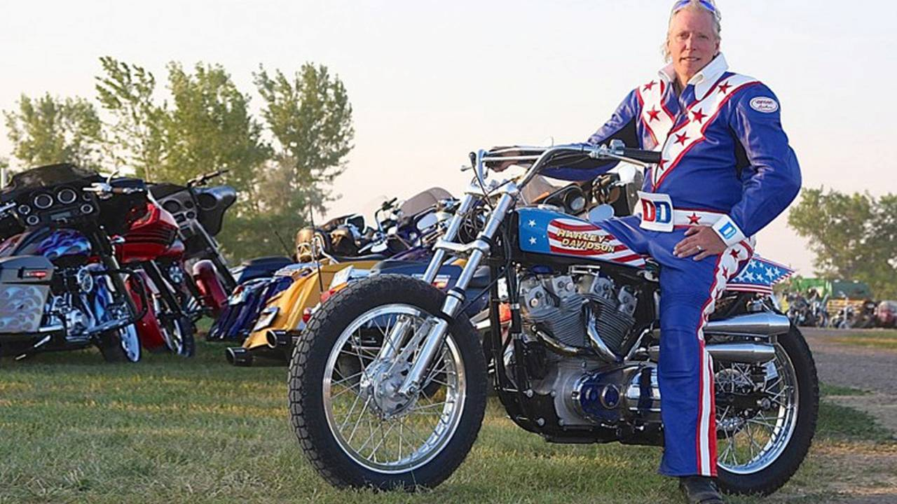Doug Danger Will Attempt 22 Car Evel Knievel Jump at Sturgis