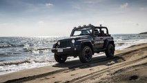 Jeep Wrangler de los Carabinieri italianos