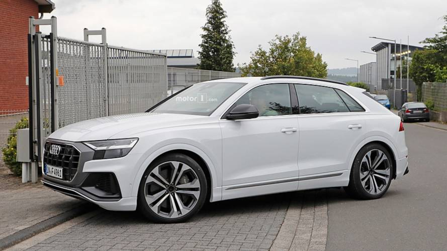 Audi SQ8 tamamen kamuflajsız olarak görüntülendi