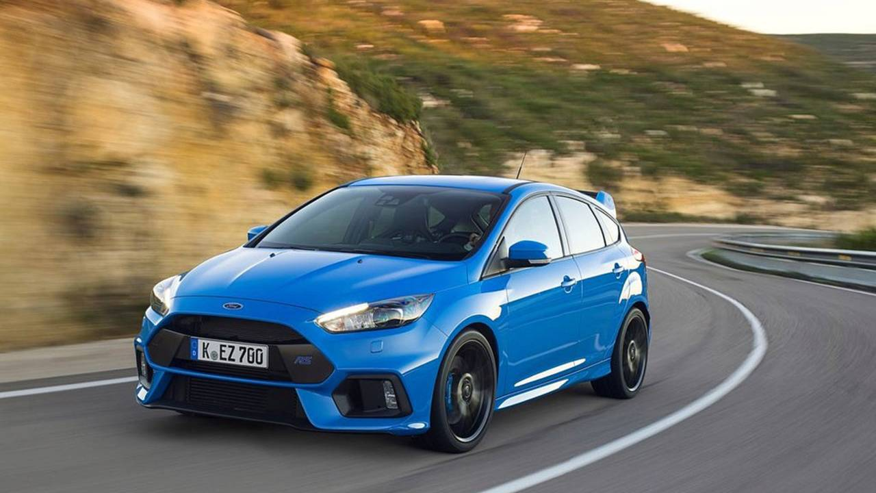 ...Ford Focus RS 2018